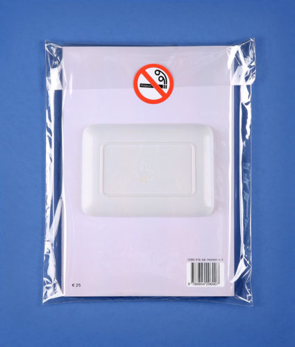 packaging with not smoke sticker