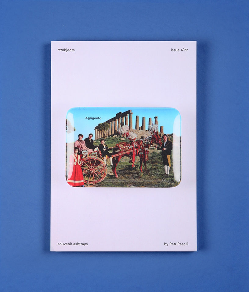 Cover with Agrigento view