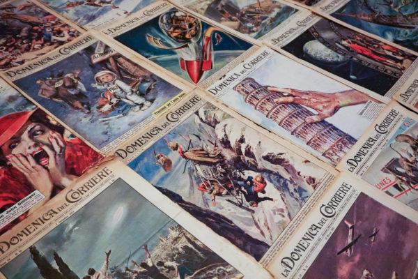 Copertine della Domenica del Corriere di Walter Molino