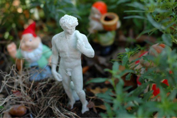 Statuetta del David da giardino